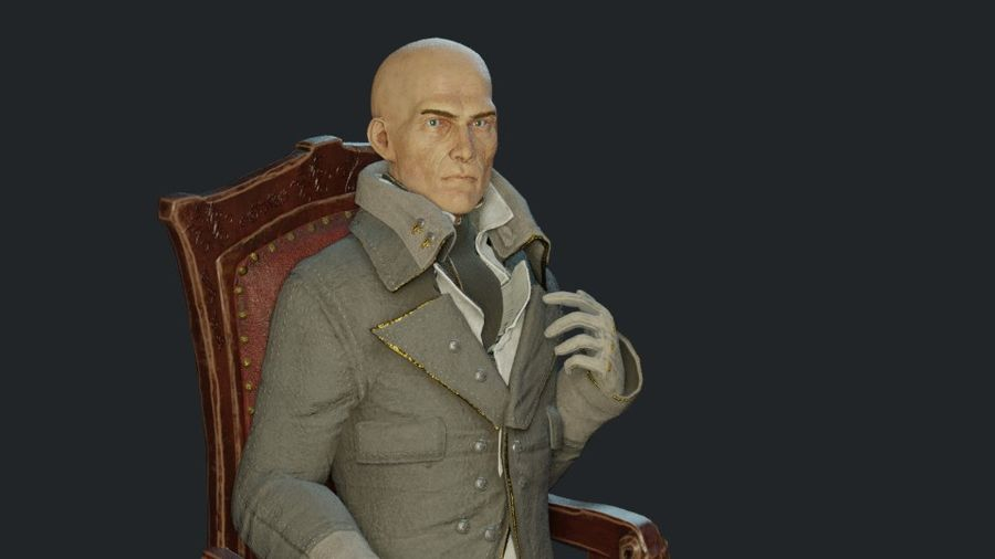 Soylu Lord royalty-free 3d model - Preview no. 9