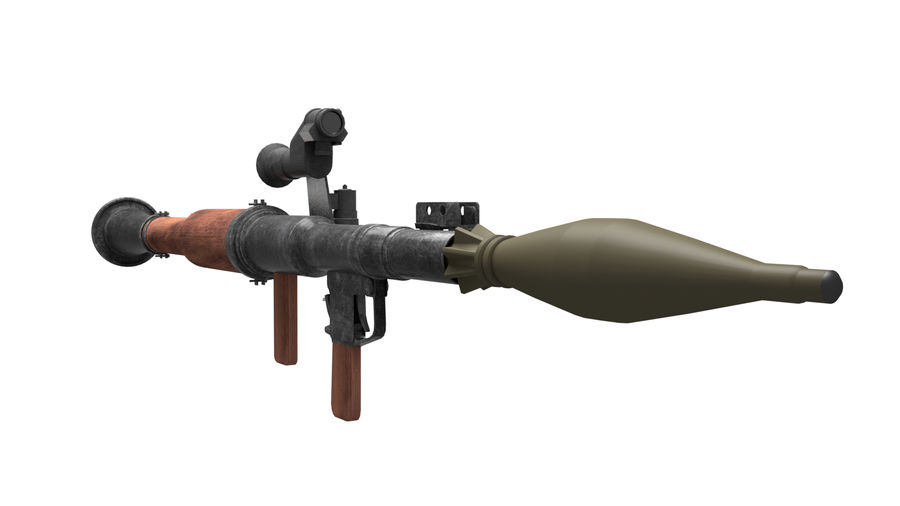 Mirino ottico RPG-7 royalty-free 3d model - Preview no. 7