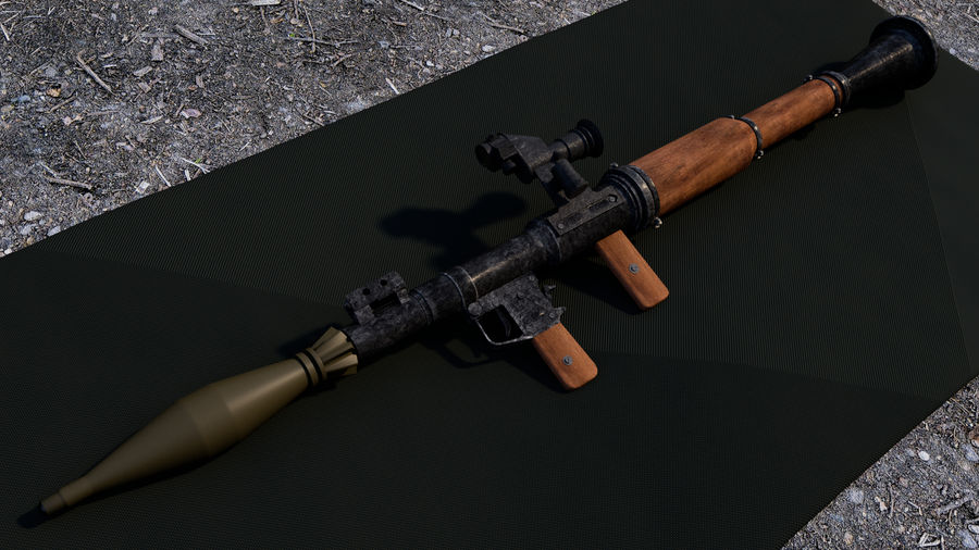 Mirino ottico RPG-7 royalty-free 3d model - Preview no. 13