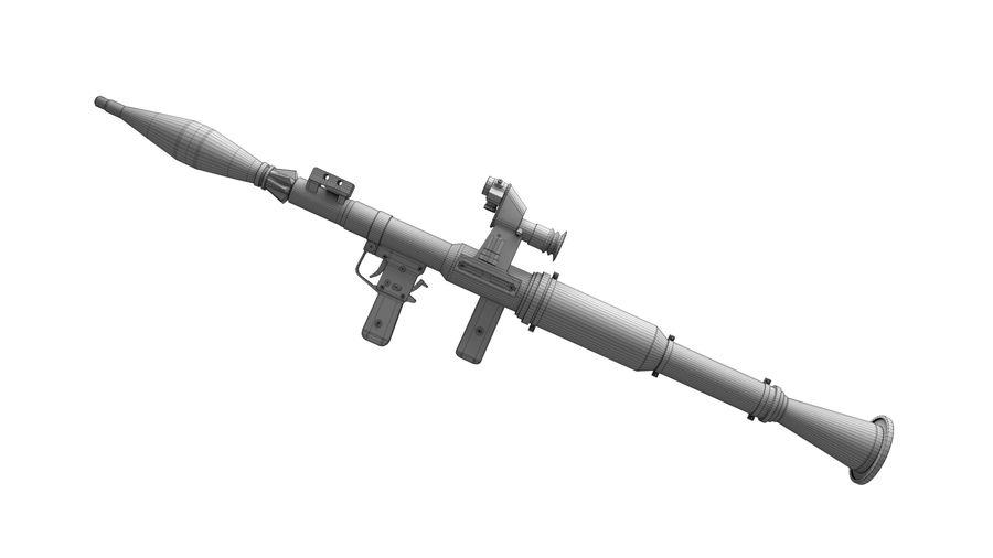 Mirino ottico RPG-7 royalty-free 3d model - Preview no. 2