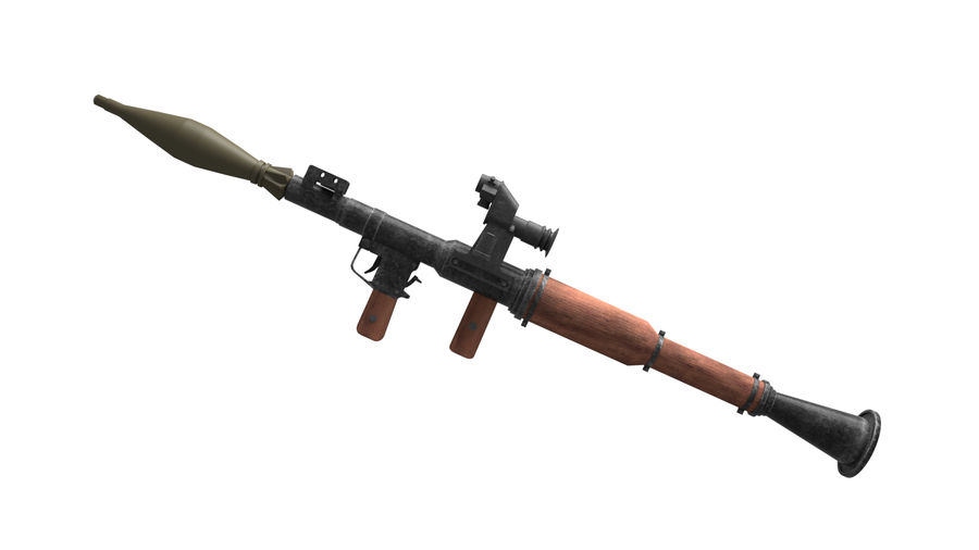 Mirino ottico RPG-7 royalty-free 3d model - Preview no. 1