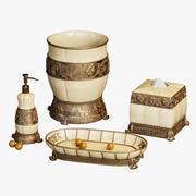 Chalmette 우아한 목욕 부속품 3d model