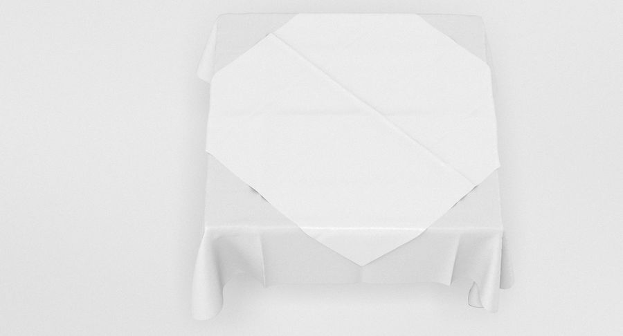 Tischdecke royalty-free 3d model - Preview no. 5