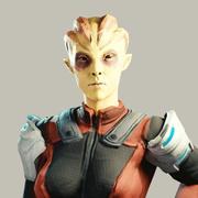 Инопланетянин 3d model