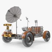 아폴로 15 호의 달의 로빙 차량 3d model