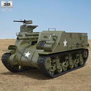 M7 Priest 3d model
