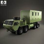 System obsługi ładunku Oshkosh M1120A4 2011 3d model
