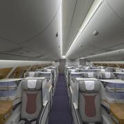 Sezione A380 Business Cabin 3d model