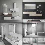 浴室家具系列3 3d model