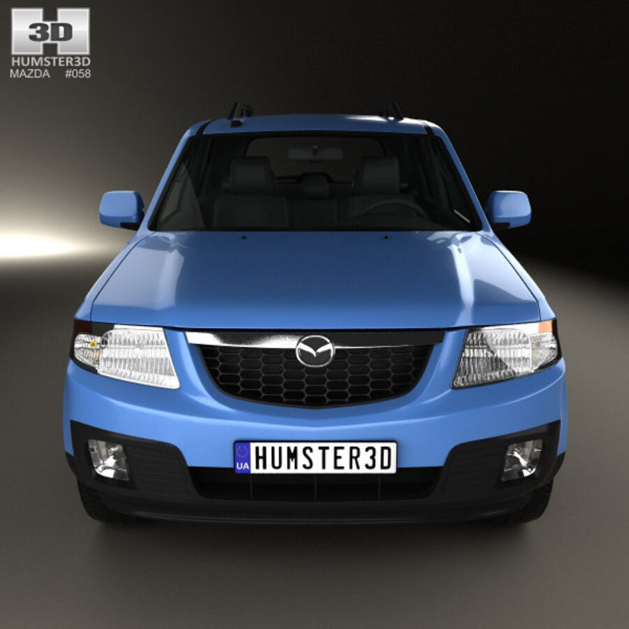 Mazda Tribute 2007 royalty-free 3d model - Preview no. 10