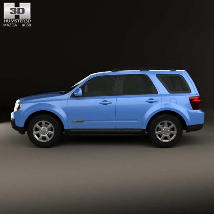 Mazda Tribute 2007 royalty-free 3d model - Preview no. 5
