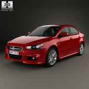 质子Inspira 2010 3d model
