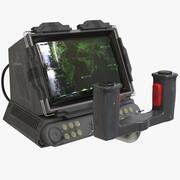 Smutsig Sci-Fi-konsol 3d model