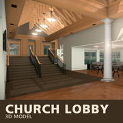 Kyrkans lobby 3d model