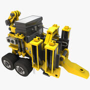 Heavy Duty Machine Vehicle 3d model