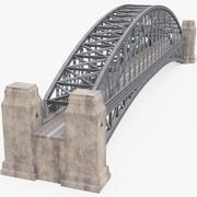 Puente de arco modelo 3d