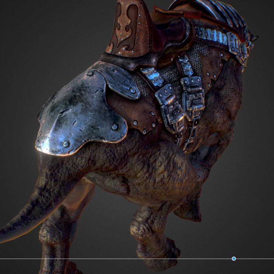 Creature mount Mastodont royalty-free 3d model - Preview no. 44
