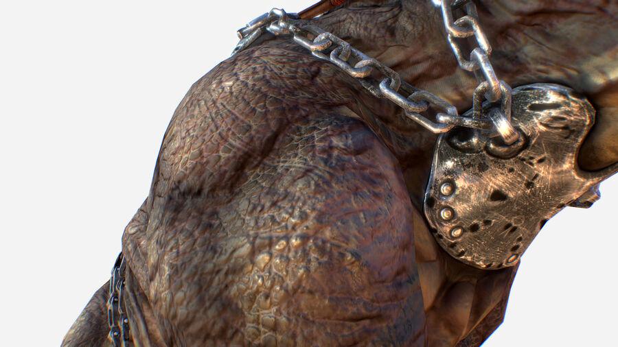 Creature mount Mastodont royalty-free 3d model - Preview no. 20