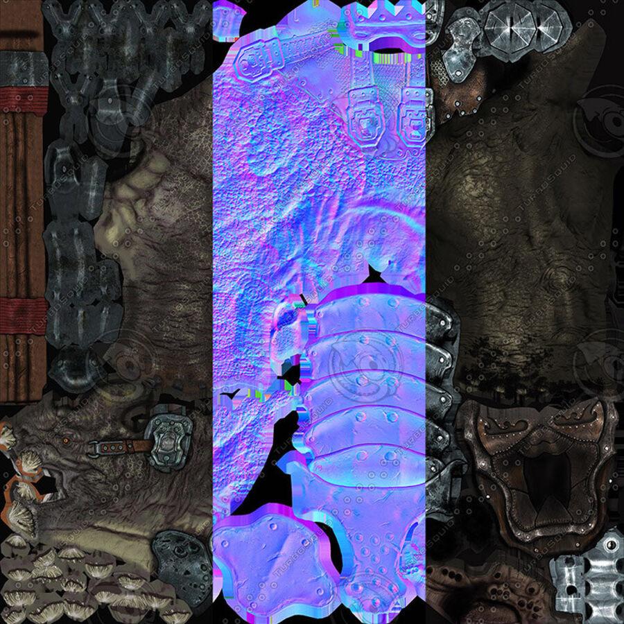 Creature mount Mastodont royalty-free 3d model - Preview no. 54