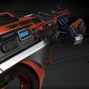 Plasma överfall gevär 3d model