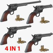 Colt 1873 Single Action Army Collection 3d model