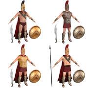 Spartans PACK 3d model