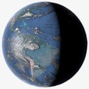Jorden 16k 3d model