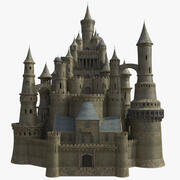Fantasy Medieval Castle 3d model