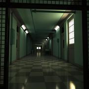 Scary Hallway 3d model