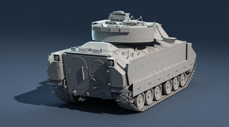M2A2 Bradley Untextured royalty-free 3d model - Preview no. 5