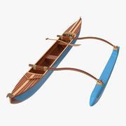 Canoa de soporte modelo 3d