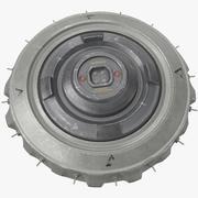 Scifi Landmine - PBR 3d model