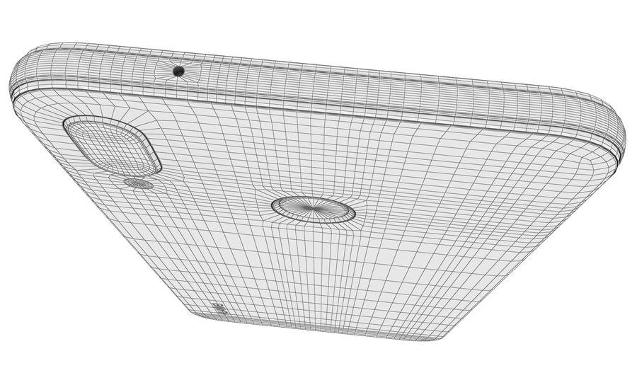 ファーウェイP20ライトクラインブルー royalty-free 3d model - Preview no. 20