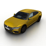VW Arteon 2017 3d model