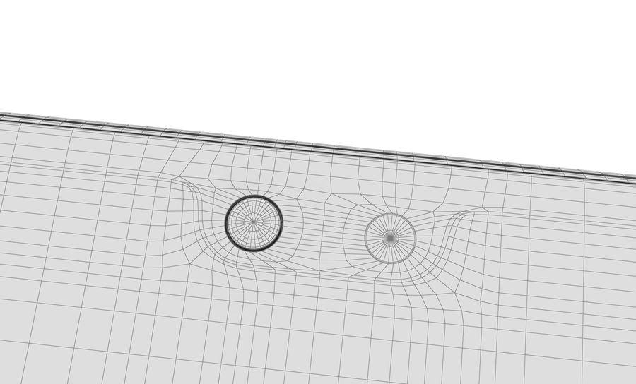 华为P20黑色 royalty-free 3d model - Preview no. 24