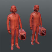 Medical People 07(Animal) 3d model