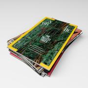 雑誌 3d model