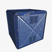 Container Boxes 3d model