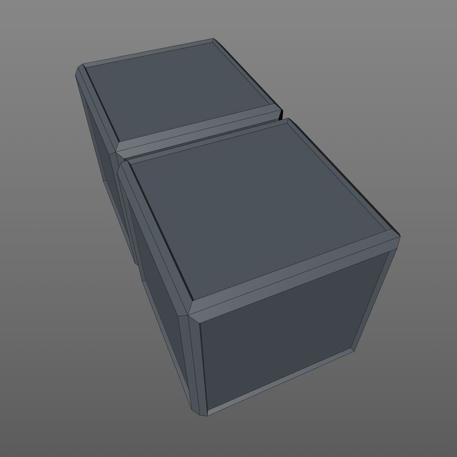 Container Boxes royalty-free 3d model - Preview no. 9