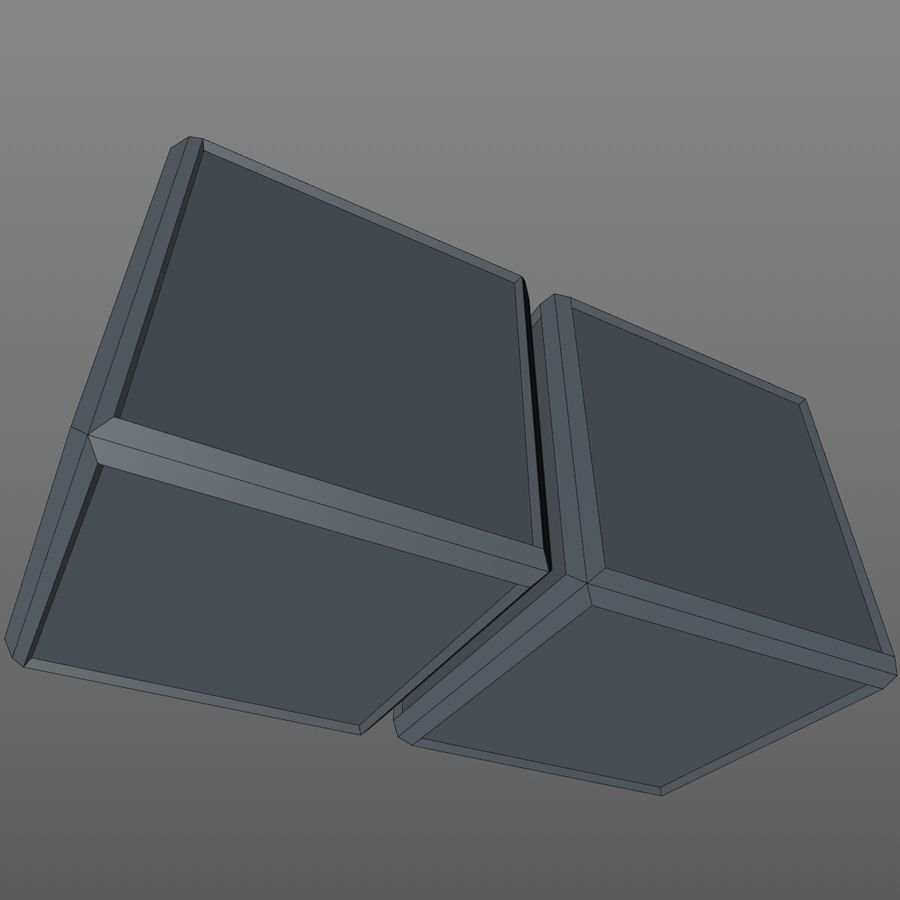 Container Boxes royalty-free 3d model - Preview no. 11