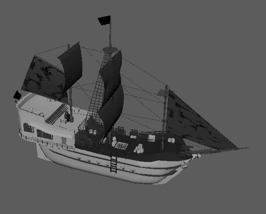 Embarcacion royalty-free modelo 3d - Preview no. 7