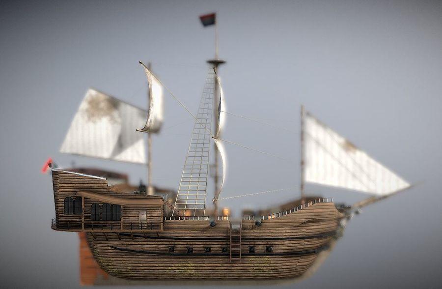 Embarcacion royalty-free modelo 3d - Preview no. 3