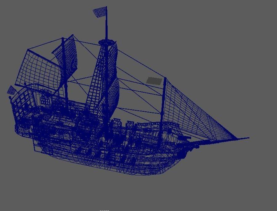 Embarcacion royalty-free modelo 3d - Preview no. 8