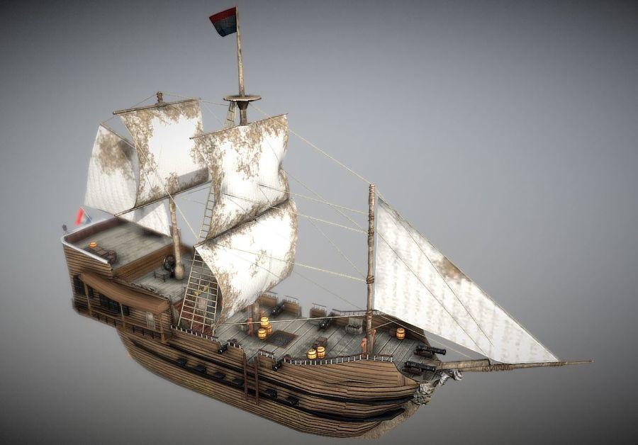 Embarcacion royalty-free modelo 3d - Preview no. 2