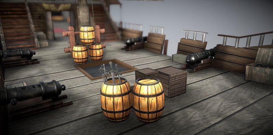 Ship royalty-free 3d model - Preview no. 1