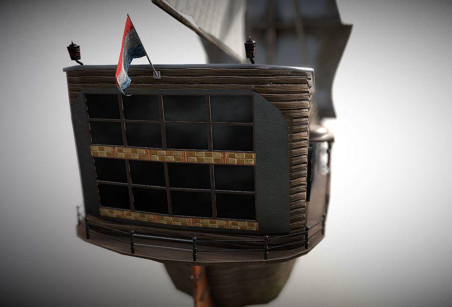 Embarcacion royalty-free modelo 3d - Preview no. 5
