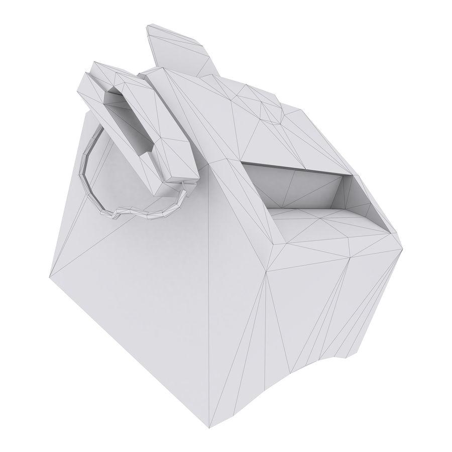 drukarka royalty-free 3d model - Preview no. 2