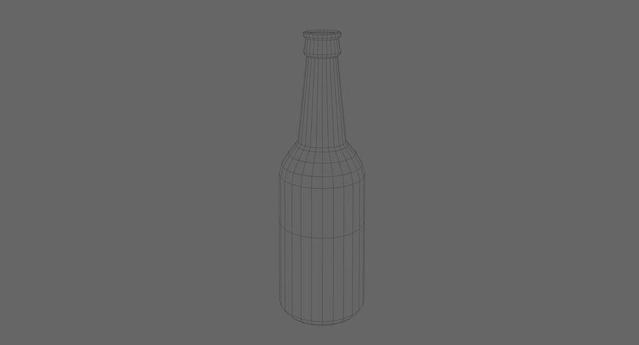 bouteille en verre royalty-free 3d model - Preview no. 5