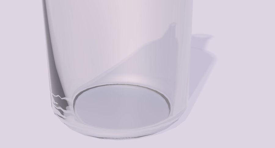 bouteille en verre royalty-free 3d model - Preview no. 2