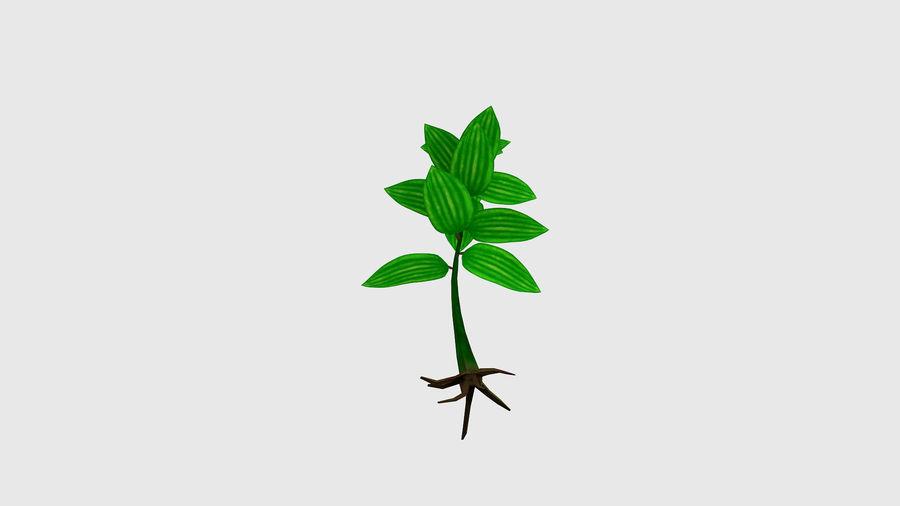 kleine Pflanze royalty-free 3d model - Preview no. 2